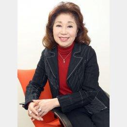 デビュー60周年の大津美子さん(C)日刊ゲンダイ