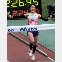 昨年の大会で日本女子歴代8位となる好タイムをマークした前田彩里