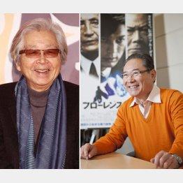 山田洋次監督(左)と前田吟