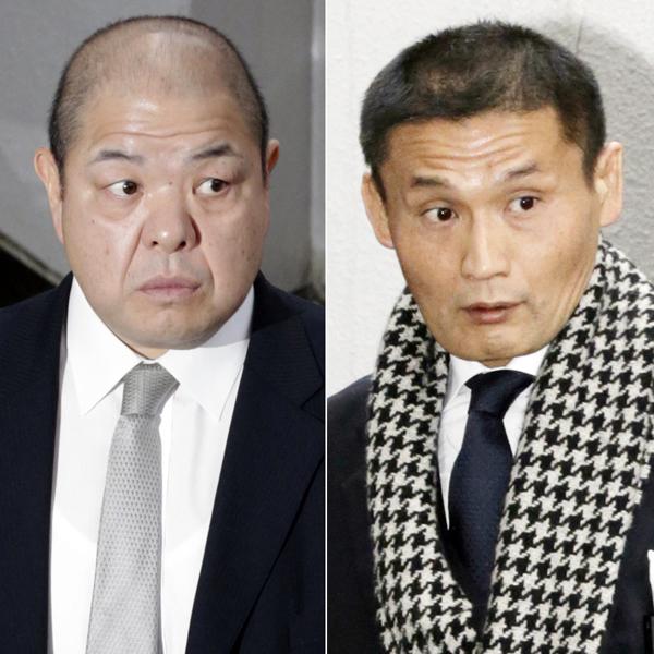 対立が激化する八角理事長(左)と貴乃花理事(C)日刊ゲンダイ