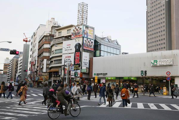 まだ大きく値上がりしていない代々木駅周辺(C)日刊ゲンダイ