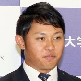 ドラフト1位の新人外野手・高山俊(C)日刊ゲンダイ