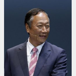 鴻海のテリー・ゴウ会長(C)日刊ゲンダイ