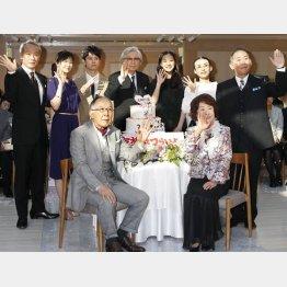 映画『家族はつらいよ』公開直前イベント(C)日刊ゲンダイ