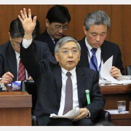 黒田総裁も講演(C)日刊ゲンダイ