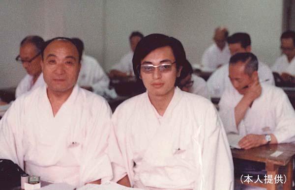 69年国学院大学「神道神職養成講座」の前期講習の受験で(提供写真)
