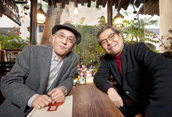 吉川潮氏(左)と立川志の輔(C)日刊ゲンダイ
