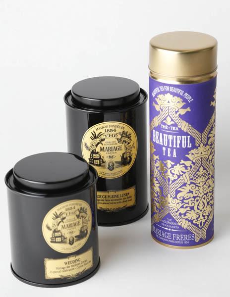 マリア―ジュフレールの紅茶「ビューティフルティー」(C)日刊ゲンダイ