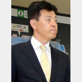 事実を明らかにした四藤阪神球団社長(C)日刊ゲンダイ