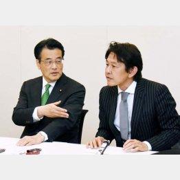 新党名は「民進党」(C)日刊ゲンダイ