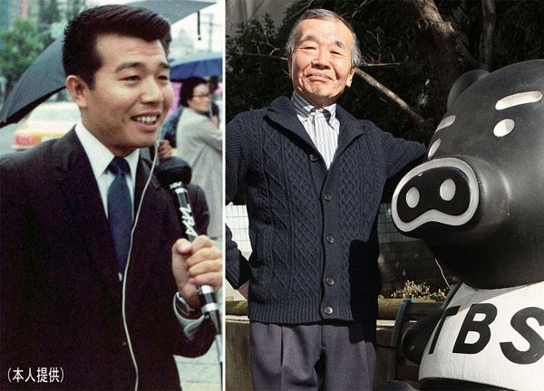 桝井論平さん(左はTBSのパーソナリティ時代)/(C)日刊ゲンダイ