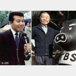 桝井論平さん(左はTBSのパーソナリティ時代)
