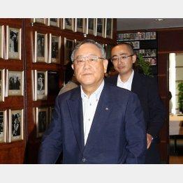 キヤノンの御手洗会長兼社長(C)日刊ゲンダイ