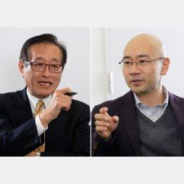石井光太さん(右)