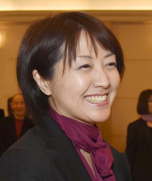 野党統一候補の池田真紀(C)日刊ゲンダイ