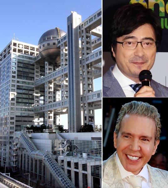 ジョン・カビラ(上)とデーブ・スペクター(C)日刊ゲンダイ