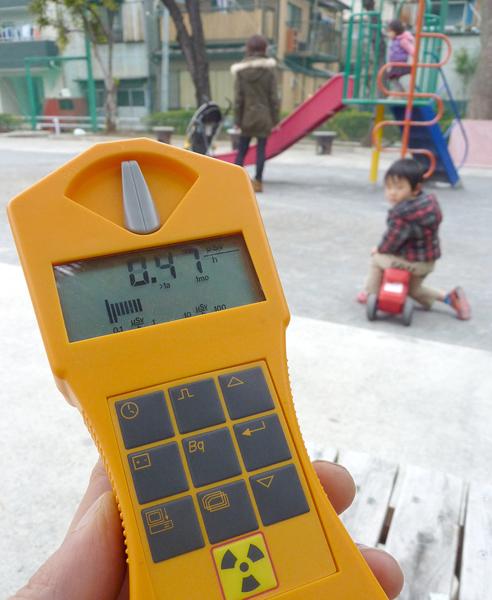 3.11では、首都圏でも高い水準値が連日続いた(C)日刊ゲンダイ