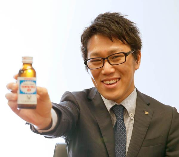 大正製薬の増田啓太さん(C)日刊ゲンダイ