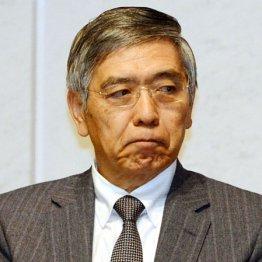体を揺すり眉根を寄せた黒田総裁 無意識に見せた防衛反応