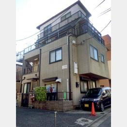 神山さと容疑者が経営するアパート