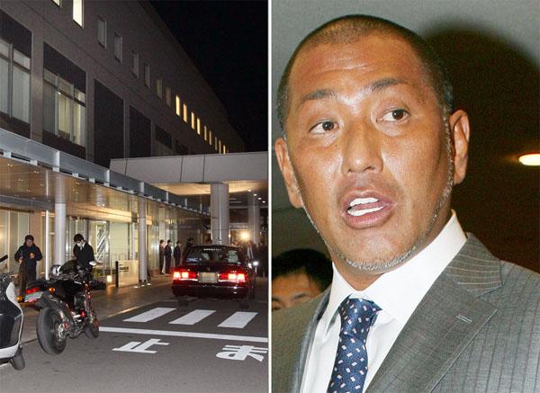 松戸市の病院と清原和博被告(C)日刊ゲンダイ