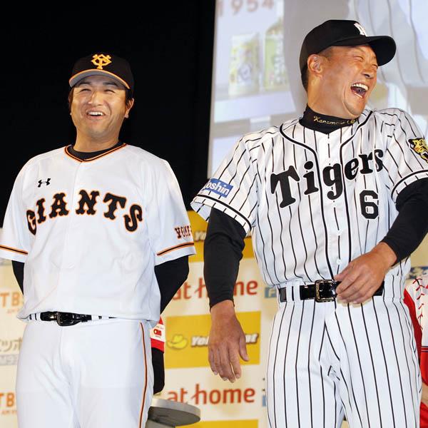 巨人の高橋監督と阪神の金本監督はセ・リーグをどう盛り上げるのか(C)日刊ゲンダイ