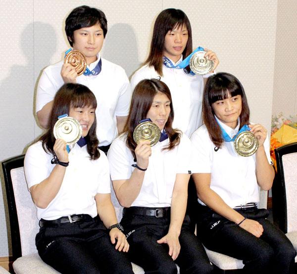 昨年の世界選手権ではメダル五個獲得(C)日刊ゲンダイ