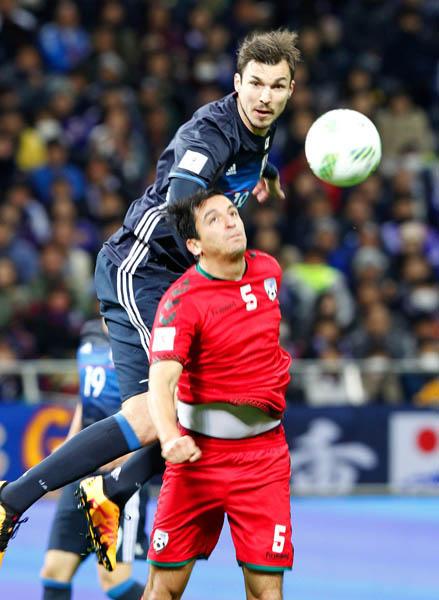 ハーフナーは試合後に「もっとできた」とコメントした(C)六川則夫/ラ・ストラーダ