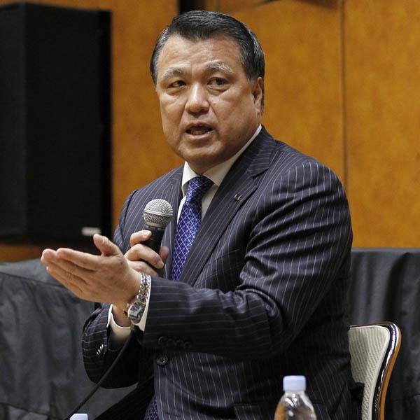 田嶋新会長には「腹心がいない」という話も…(C)日刊ゲンダイ