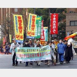 「戦争法廃止・安倍政権の暴走許さない! 3.19総がかり日比谷大集会」