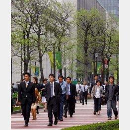 もうすぐ新入社員の季節(C)日刊ゲンダイ