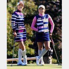 女子ツアーは4試合消化してキム・ハヌル(左)とイ・ボミがそれぞれ1勝マーク