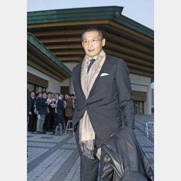 執行部から外れた貴乃花理事(C)日刊ゲンダイ