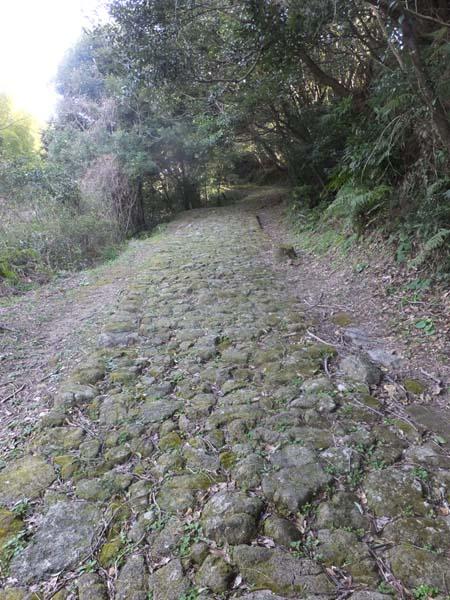 神々しさ漂う石畳の道(C)日刊ゲンダイ