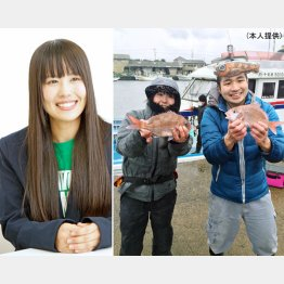 釣りアイドル・そらなさゆり(提供写真)