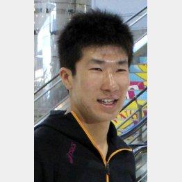 東洋大の広告塔も担う桐生祥秀(C)日刊ゲンダイ