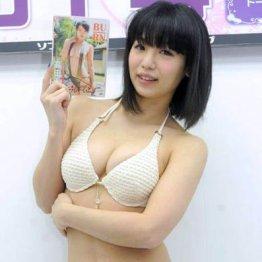 DVDで初お披露目 女性芸人・高田千尋が巨乳エロスで悩殺