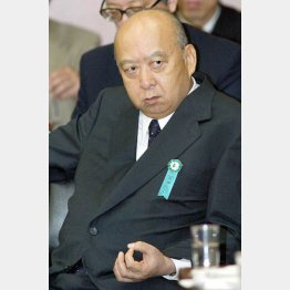 NHKの海老沢元会長(C)日刊ゲンダイ