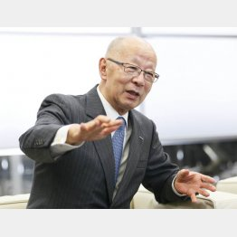 WOWOWの和崎信哉会長(C)日刊ゲンダイ