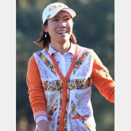 日本で勝つのは外国人選手ばかり(ヤマハレディースで優勝した季知姫)/(C)日刊ゲンダイ