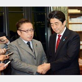 喜美氏は安倍首相のお友達