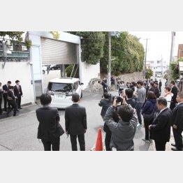 5日に神戸で開かれた6代目山口組の定例会