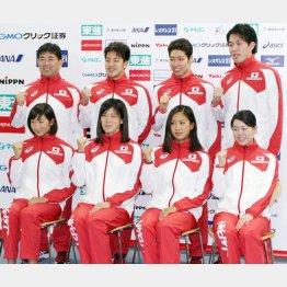 競泳日本は金メダル獲れるか?(C)日刊ゲンダイ