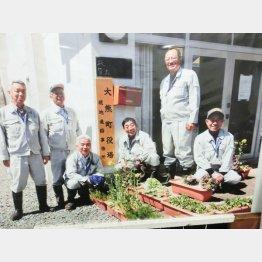 右から加井孝之さん、岡田範常さん、中島孝一さん、鈴木久友さん(隊長役)、横山常光さん、杉内憲成さん/(C)岡邦行