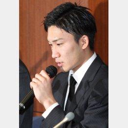 桃田は「ギャンブルの世界に興味」とも語った(C)日刊ゲンダイ