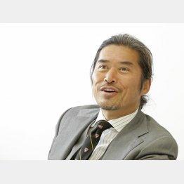 「伝統のすた丼屋」を展開する早川秀人社長(C)日刊ゲンダイ