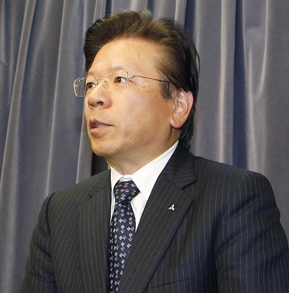 三菱自動車の相川哲郎社長(C)日刊ゲンダイ