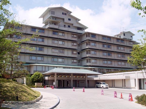 会場となる志摩観光ホテル(C)日刊ゲンダイ