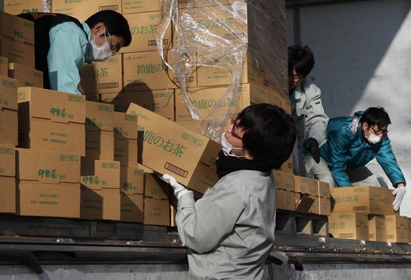 東日本大震災の時も同じような状況だった(C)日刊ゲンダイ