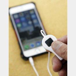 iPhone5・6用リモートシャッター(C)日刊ゲンダイ
